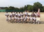東部地区軟式野球春季大会 優勝!